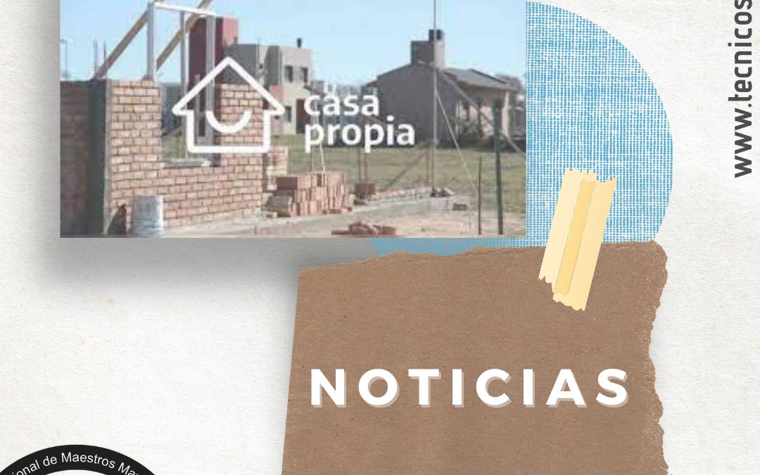 Reabrieron las inscripciones para la construcción de viviendas