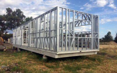 Las ventajas del steel framing